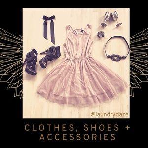 Clothes, Shoes + Accessories